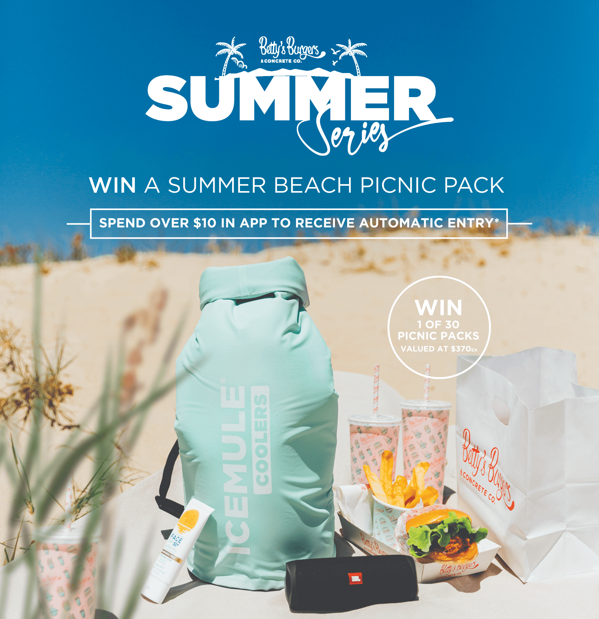 WIN THE ULTIMATE BEACH PACK!